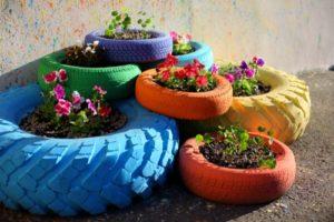 dārza dekors