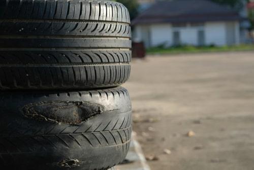 Ko darīt ar vecajām auto riepām?