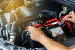auto akumulatora pārbaude